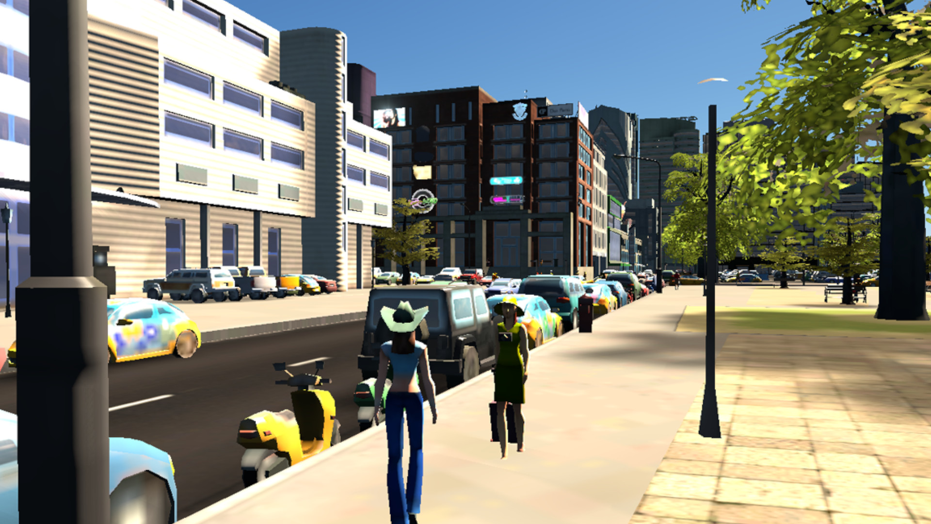 This Cities: Skylines mod lets you walk and drive around